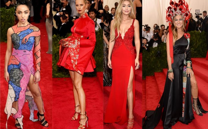 Met Gala Red Carpet Shoes