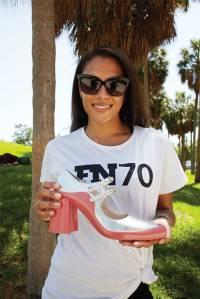 Model Kareena on location in Miami