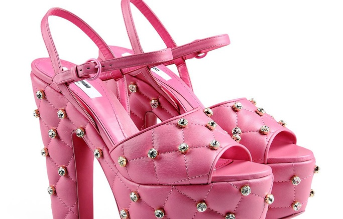Moschino Barbie Shoes