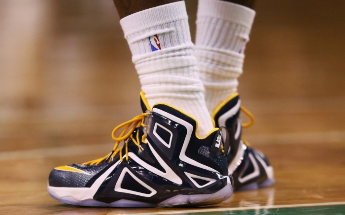 LeBron James' Playoff Shoes