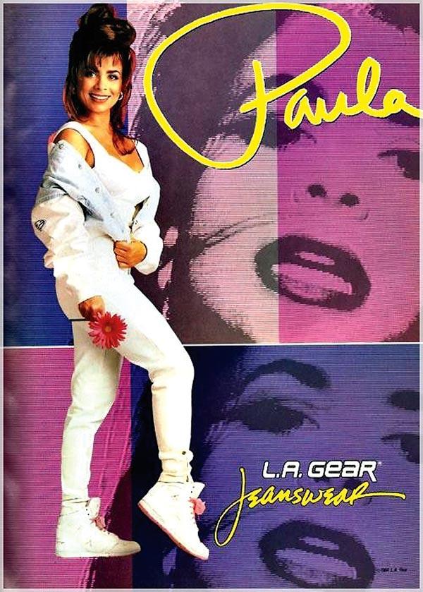 Paula Abdul's L.A. Gear Ad