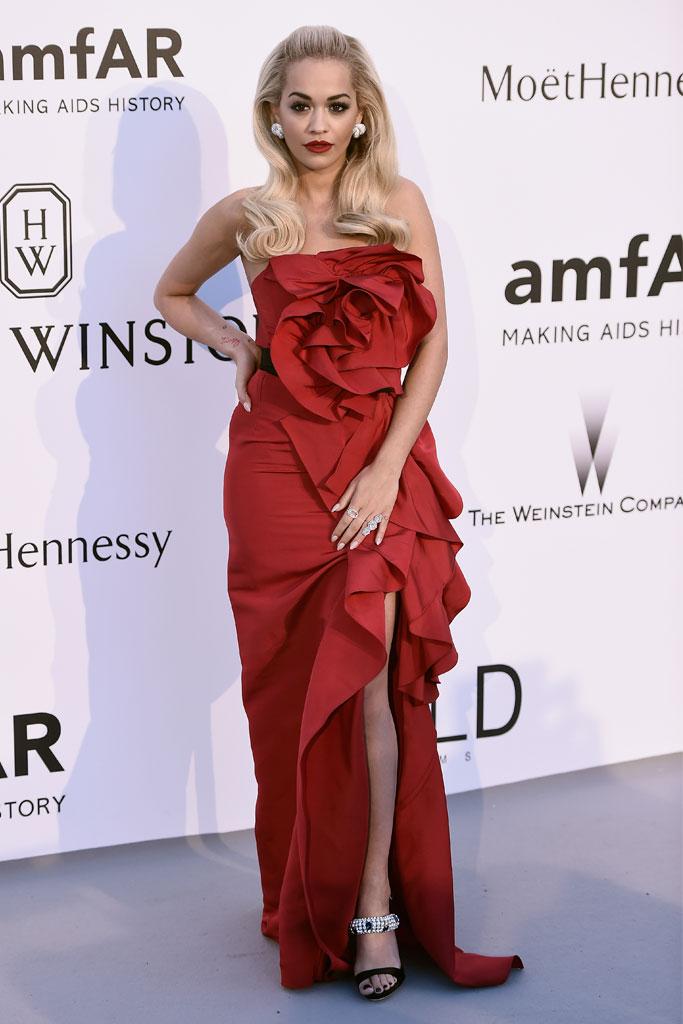 Cannes Film Festival, Amfar Gala, Rita Ora