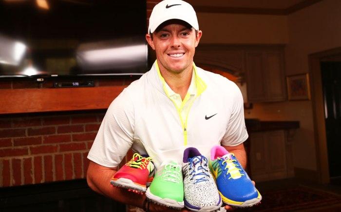 Pro golfer Rory McIlroy