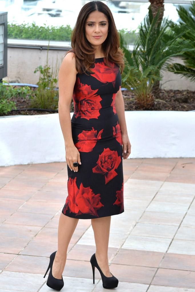 Salma Hayek, Cannes Film Festival, Zanotti