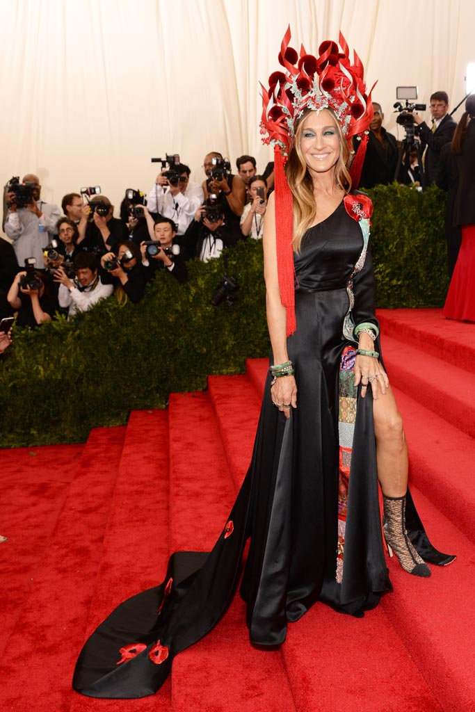 Met Ball Red Carpet Shoes