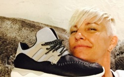 stacey griffith soulcycle sneakers