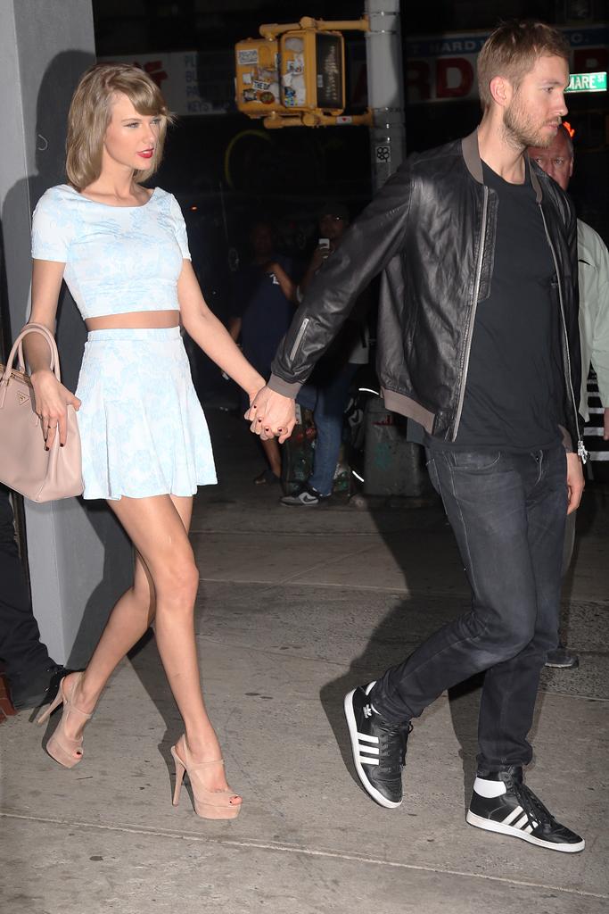Taylor Swift Calvin Harris Prada