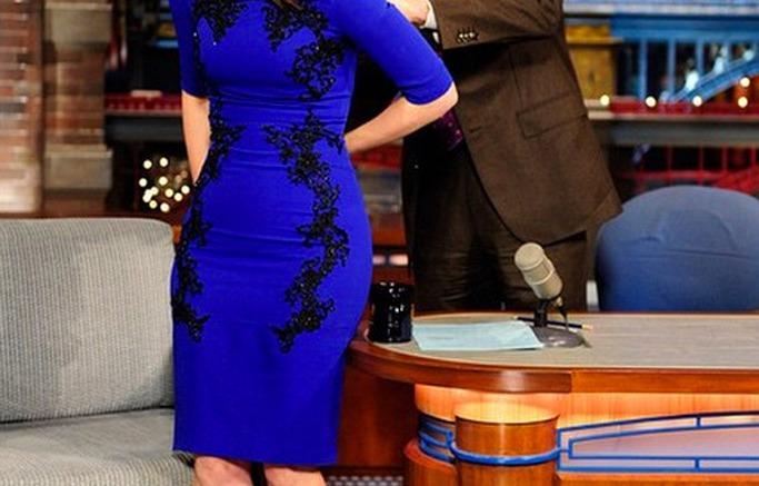 Tina Fey farewells David Letterman
