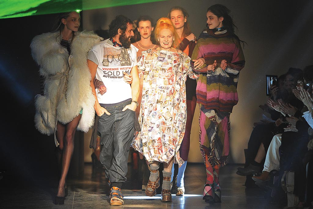 Vivienne Westwood fall '12 money print dress