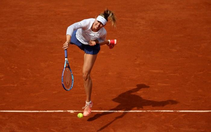 Maria Sharapova at French Open