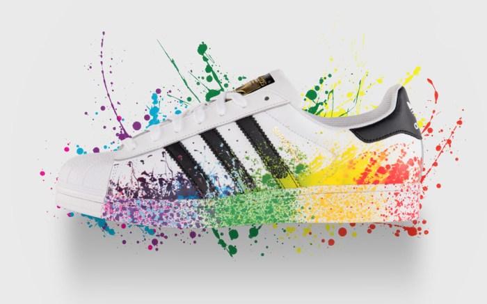 Adidas Pride Pack Superstar Sneaker
