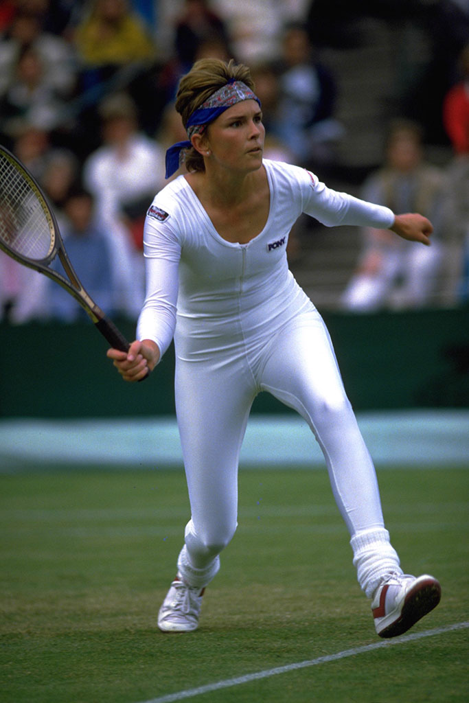 Anne White at Wimbledon