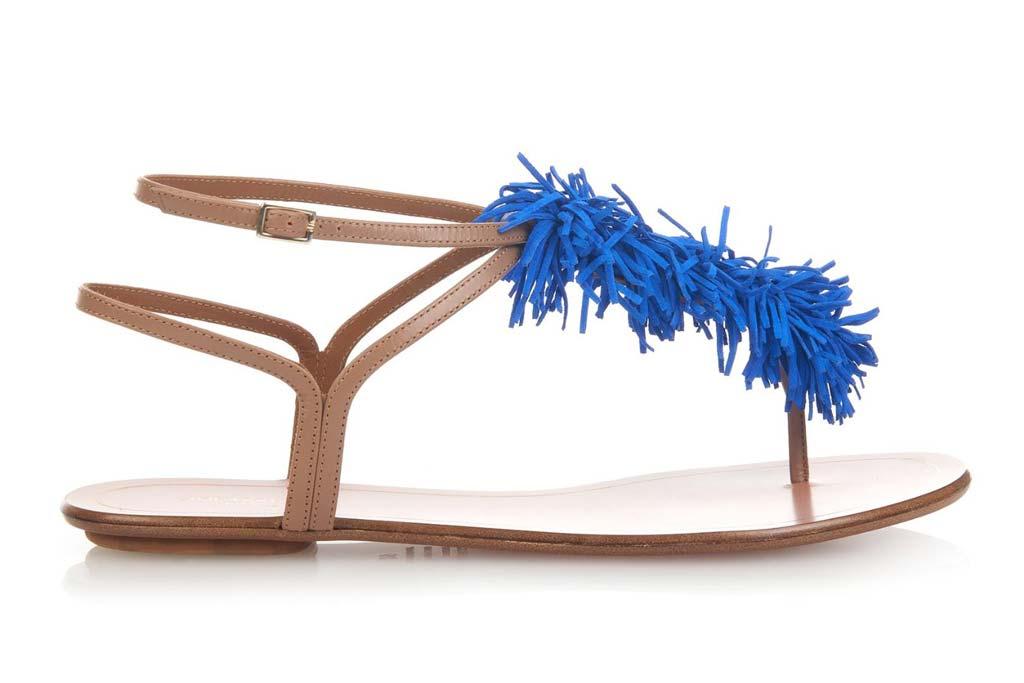 Aquazzura-fringe-flat-sandals