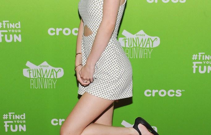Bella Thorne Crocs