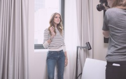 Behind-the-scenes with Chiara Ferragni