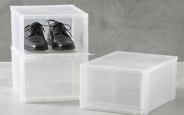 Shoe racks for under your desk