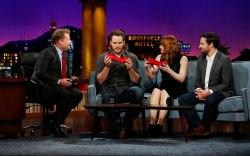 Chris Pratt Running Heels