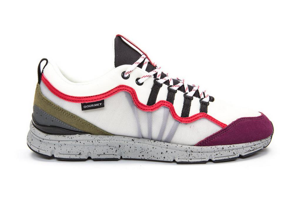 Gourmet Netto sneakers.