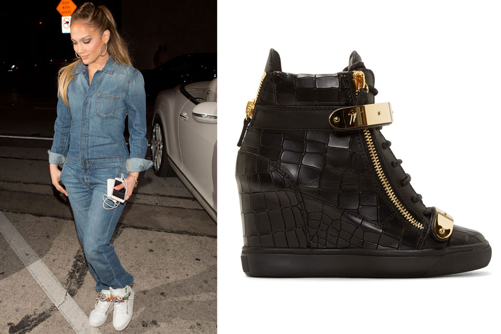 Jennifer Lopez & Giuseppe Zanotti Sneakers