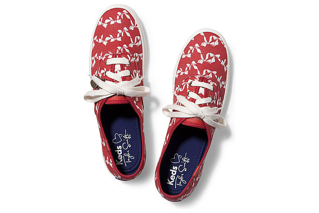 Taylor Swift x Keds sneakers.