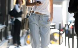 Kendall Jenner's White Sneaker Style