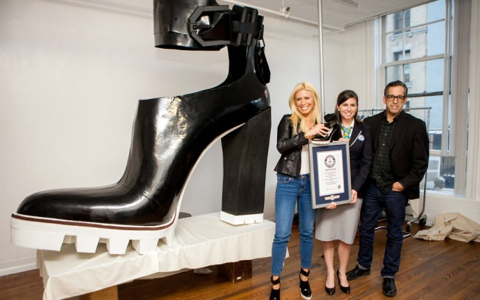 Kenneth Cole largest high heel