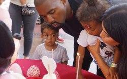 Kim Kardashian North West Birthday