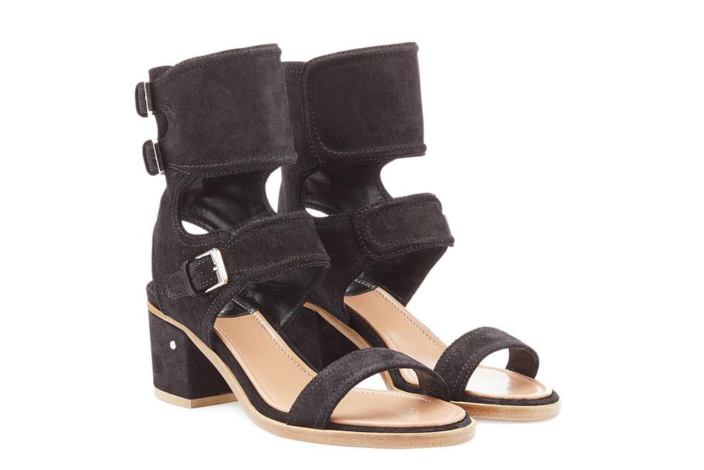 Laurence Dacade suede block heels