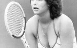 Linda Siegel at Wimbledon