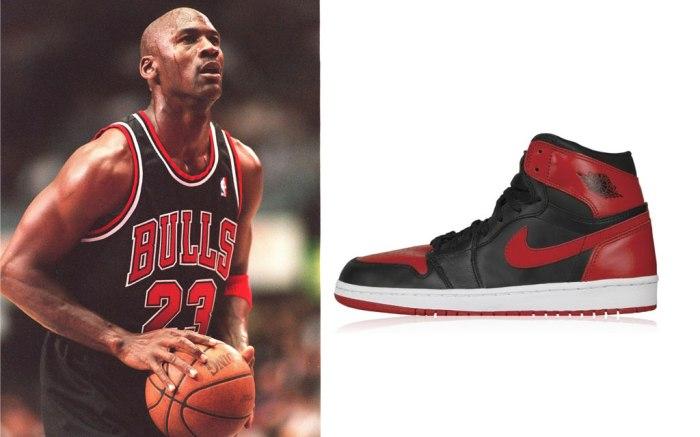 Michael Jordan and Air Jordan sneakers