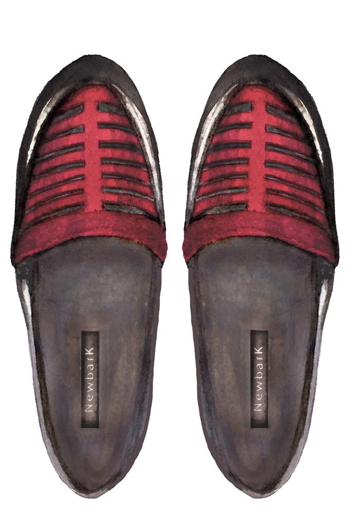 Designer shoe sketches