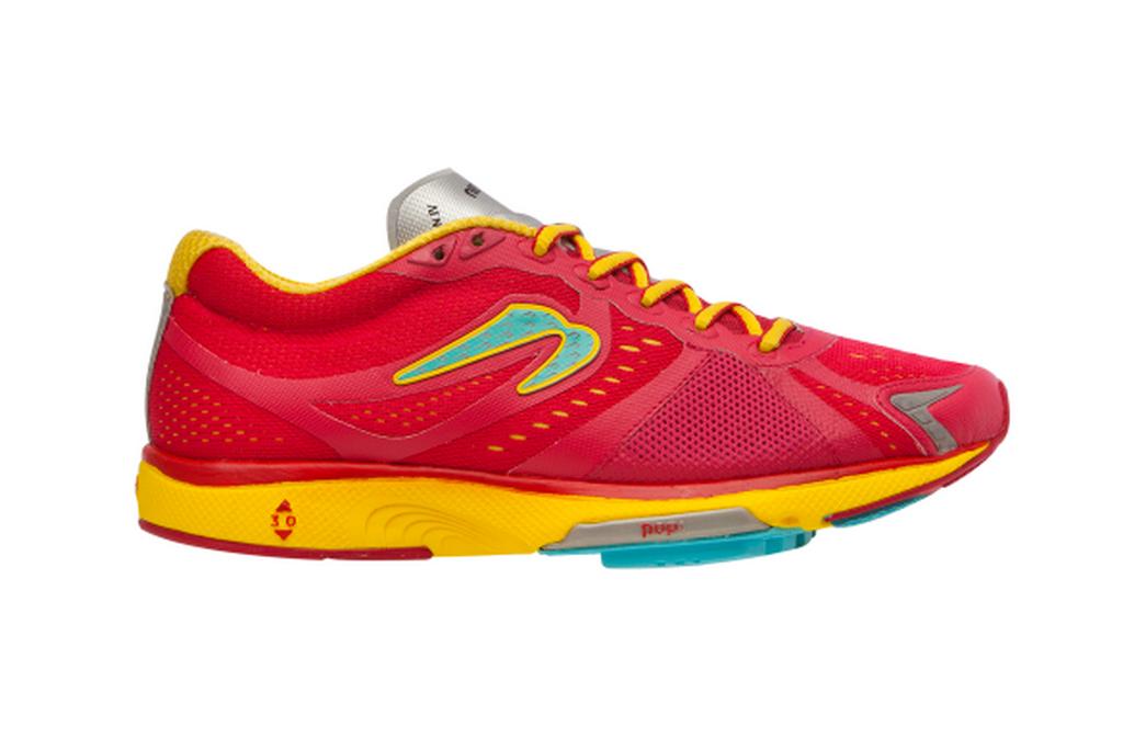 Newton running shoes.