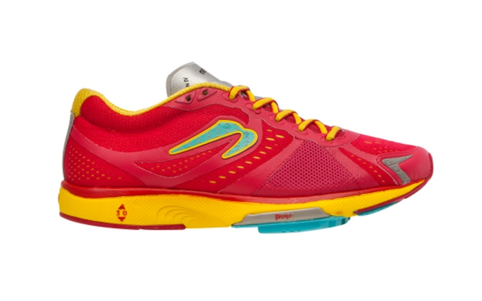 Newton running shoes.