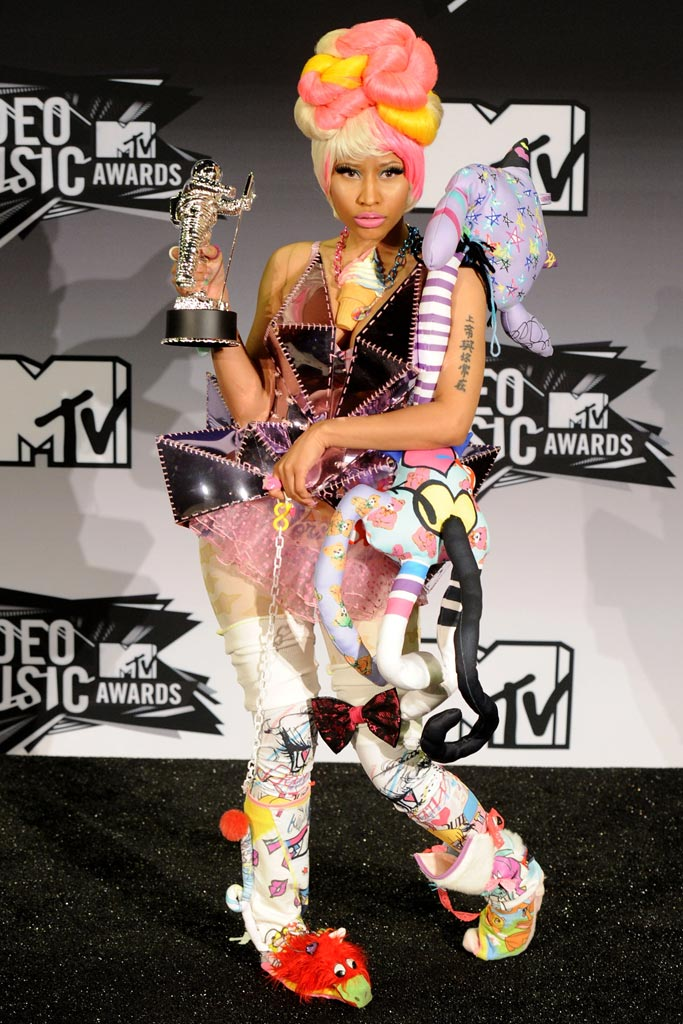 Nicki Minaj Craziest Celebrity Red Carpet Shoes