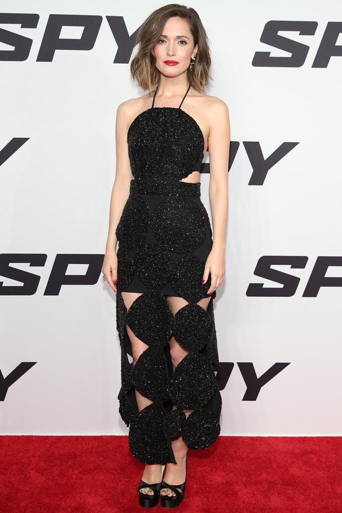 Rose Byrne Spy Premiere NYC