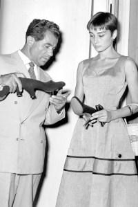 Salvatore Ferragamo; Audrey Hepburn