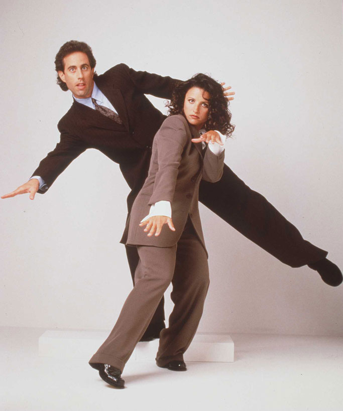 Jerry and Elaine is a publicity shot for the show.