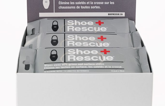 ShoeRescue wipes