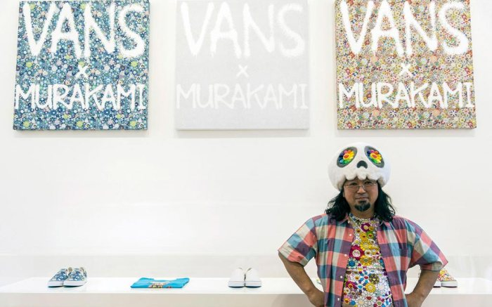 Takashi Murakami Vans