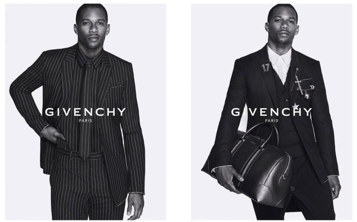 Victor Cruz Givenchy Campaign