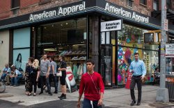 American Apparel Store front