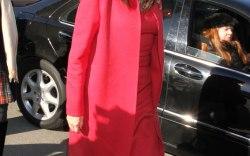 Anjelica Huston Celebrity Shoe Style