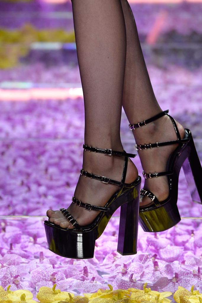 Atelier Versace Fall '15 Couture Shoes