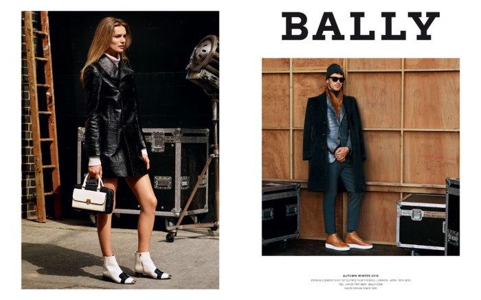 Bally Fall '15 Campaign