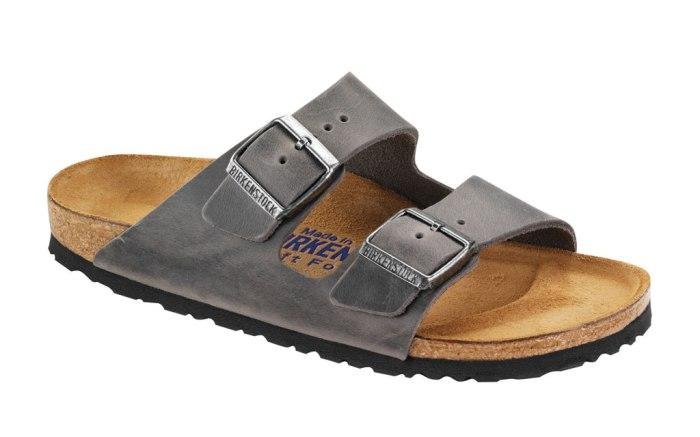 Birkenstock Arizona sandals.