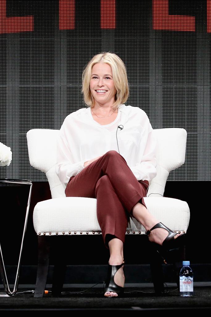 Chelsea Handler TCA 2015 Shoes