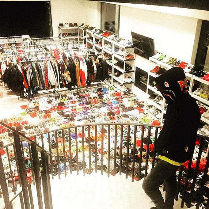 Celebrity Shoes Closet