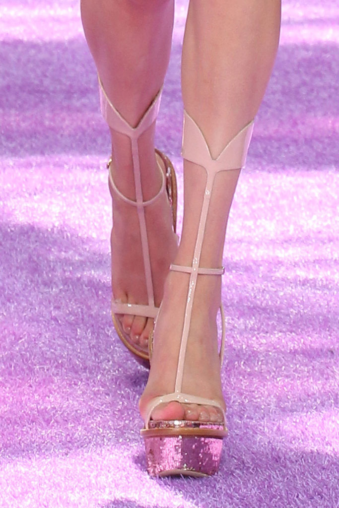 Christian Dior Fall '15 Couture Shoes