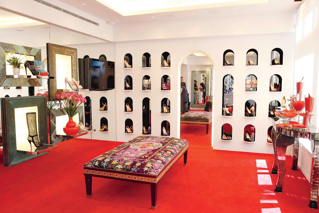 Christian Louboutin store LA