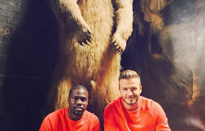 David Beckham & Kevin Hart Team Up